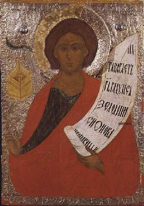 The Holy Prophet Zacharias, Russian icon from an iconostasis in the Antoniev Monastery