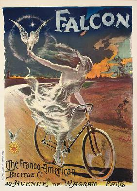 Poster advertising Falcon bicycles