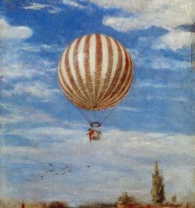Szinyei-Merse, P�l : Hot Air Balloon