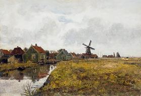 Zaanstreek (houses at the channel)