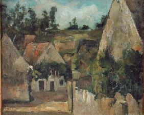 Crossroads at the Rue Remy, Auvers