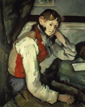Young Man with red Waistcoat