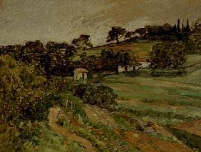 Countryside in the Provence