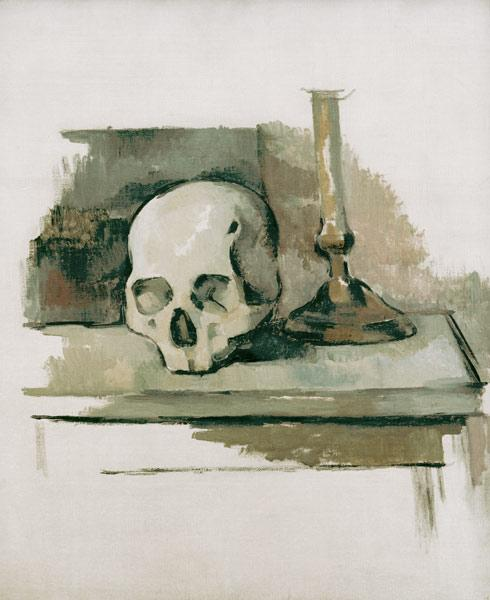 C�zanne, Paul : Still life with skull