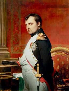 Napoleon (1769-1821) in his Study