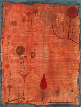 Fruits on red (or: The handkerchief of the violinist) 1930