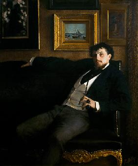 Portrait of Ernest Duez (1843-96)