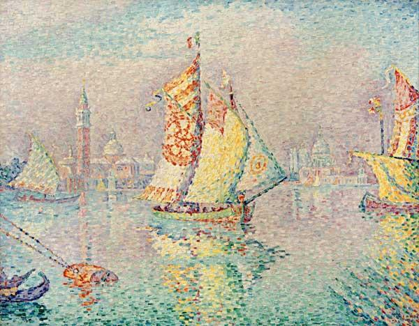 The Yellow Sail, Venice, 1904 (oil on canvas)