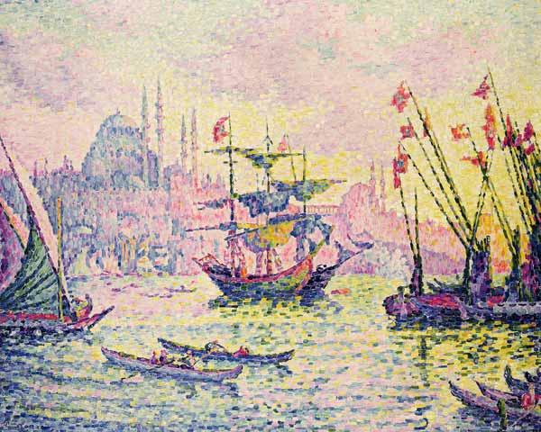 View of Constantinople