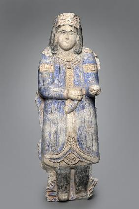 Figure of a courtier from a palace frieze, Seljuk Dynasty, 1150/1250
