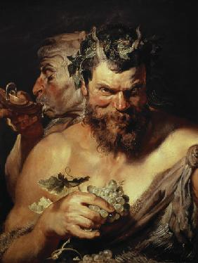 Rubens, Peter Paul : Two Satyrn
