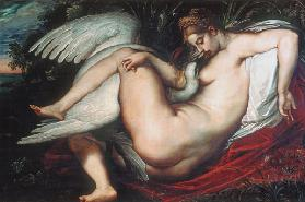 Leda with the swan 1598/1600