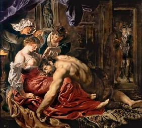 Samson and Delilah / Rubens