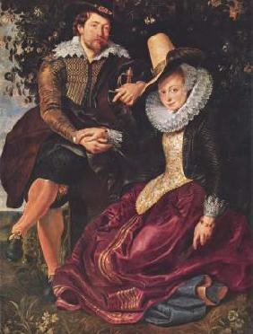 The Artist and His First Wife, Isabella Brant, in the Honeysuckle Bower