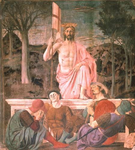 The Resurrection Piero Della Francesca As Art Print Or