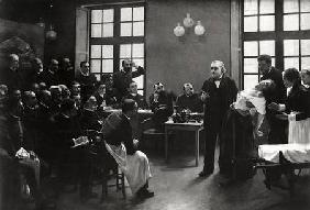A Clinical Lesson with Doctor Charcot at the Salpetriere