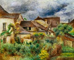 Renoir Pierre-Auguste - The small village Essoyes.