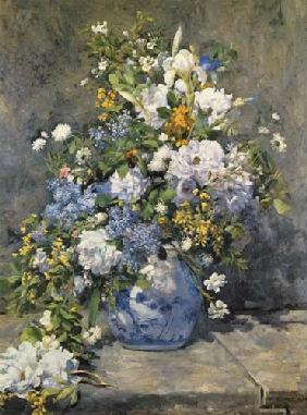 Big vase with flowers 1866