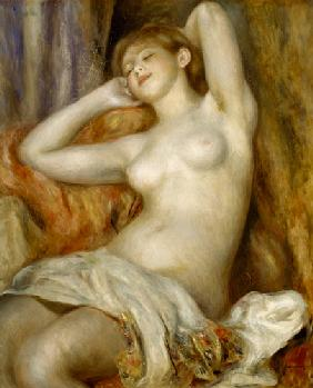 The Sleeping Bather