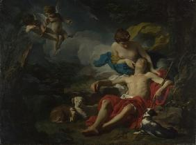 Subleyras, Pierre : Diana and Endymion