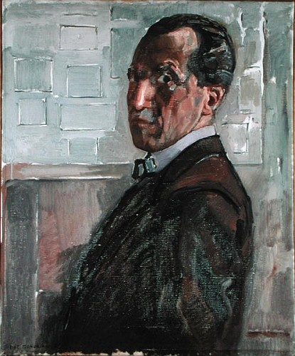 Self-portrait from Piet Mondrian