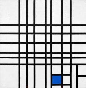 Composition Nr. 12; blue/1937-42