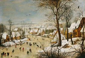 Brueghel the Younger, Pieter : Winter landscape.