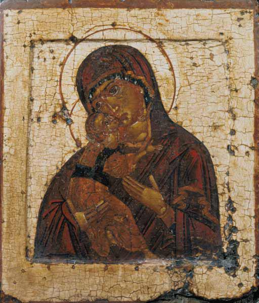 The Mother of God of Vladimir, Russian icon