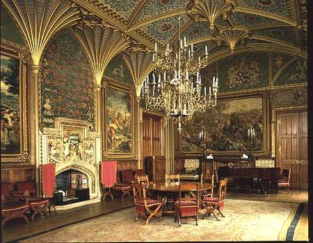 Eastnor Castle Herefordshire The Drawi Pugin As Art