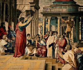Sermon of St. Paul in Athens
