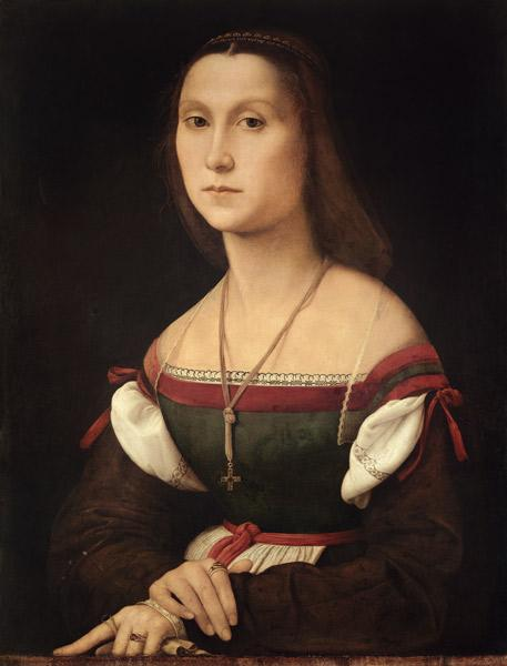Portrait of a Woman (La Muta)