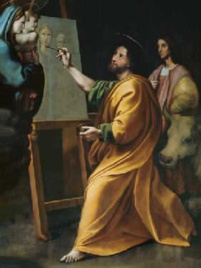 St. Luke Painting the Virgin