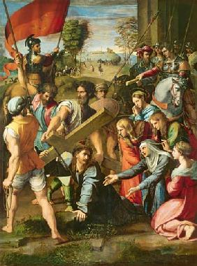 The Fall on the Road to Calvary