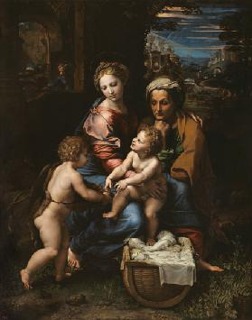 The sacred family (La Perla)