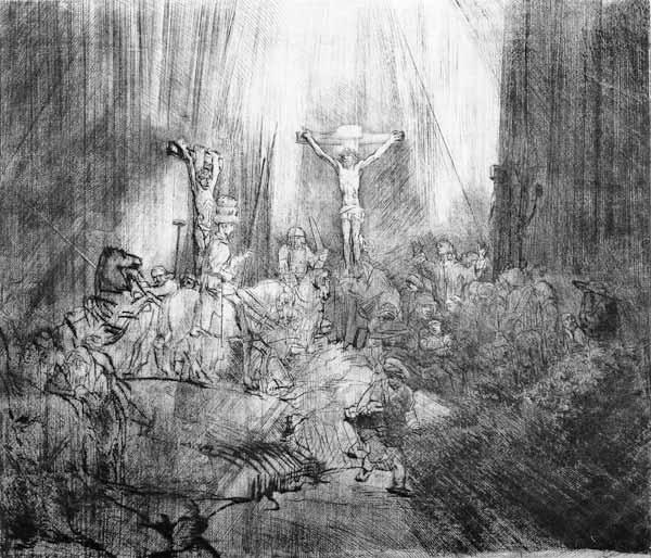van Rijn, Rembrandt : Three Crucifixes