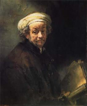 Self-portrait as Paulus