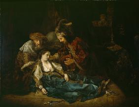 The Death of Lucretia, mid 1640s