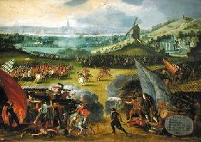Battle of Nimegen (War against France 1556-1558)