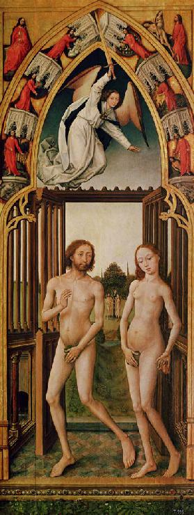 van der Weyden / Expulsion from Paradise