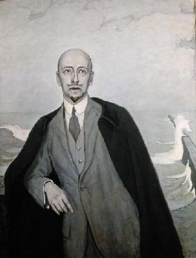 The Poet in Exile, 1912 (oil on canvas)