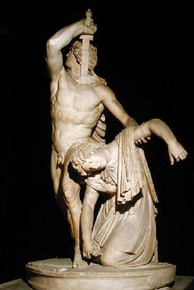 A Gaul Killing Himself having Killed his Wife before the Enemy, also known as Paetus and Arria, Roma