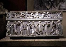 Sarcophagus of the Muses, Roman