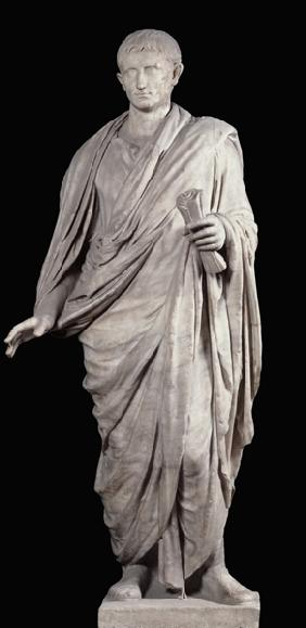 Statue of Caesar Augustus (63 BC-14 AD) from Velletri