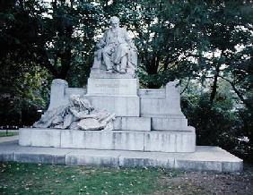 Monument to Johannes Brahms (1833-97)