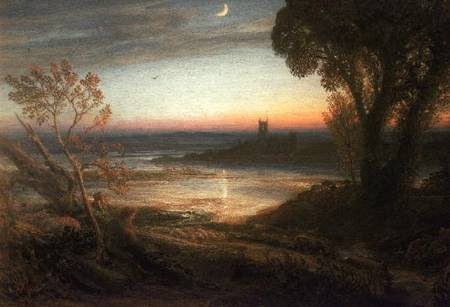 The Curfew Samuel Palmer As Art Print Or Hand Painted Oil