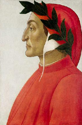 Portrait of Dante Alighieri.