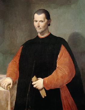 Portrait of Niccolo Machiavelli (1469-1527)