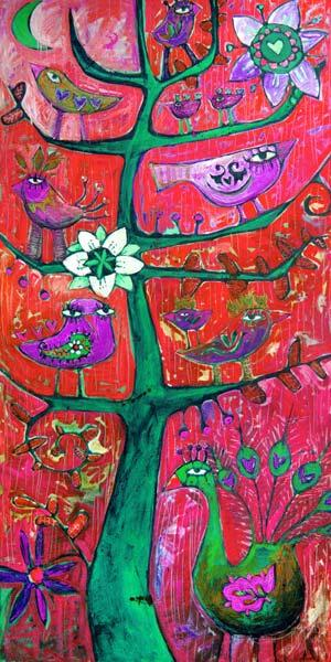 Santosha  Tree 3 (Tree Of Contentment 3)