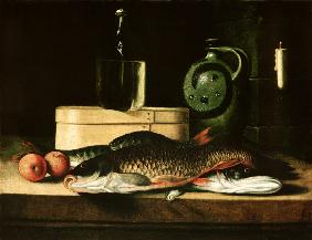Quiet life with fish