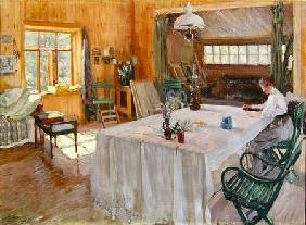 In the House of the Artist Konstantin Korovin (1861-1939)
